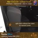 Dingotrails.com.au Toyota Hilux Mk.8 Neoprene Seat Covers (TH15)L2-01
