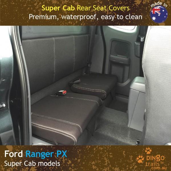 Ford Ranger PX Neoprene Seat Covers (FR11EC)d2-01