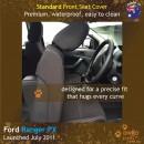 Ford Ranger PX Neoprene Seat Covers (FR11)e-01