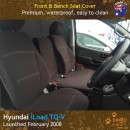 Hyundai iLoad TQ-V Neoprene Seat Covers (HIL08)b-01