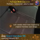Jeep Grand Cherokee WK WK2 Neoprene Seat Covers (JGC11)m-01