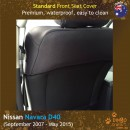 Nissan Navara D40 Neoprene Seat Covers (NN07)e-01
