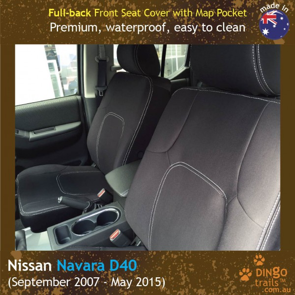 Nissan Navara D40 Neoprene Seat Covers (NN07)f-01