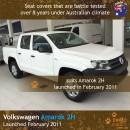 Volkswagen VW Amarok 2H Neoprene Seat Covers (VA11)a-01