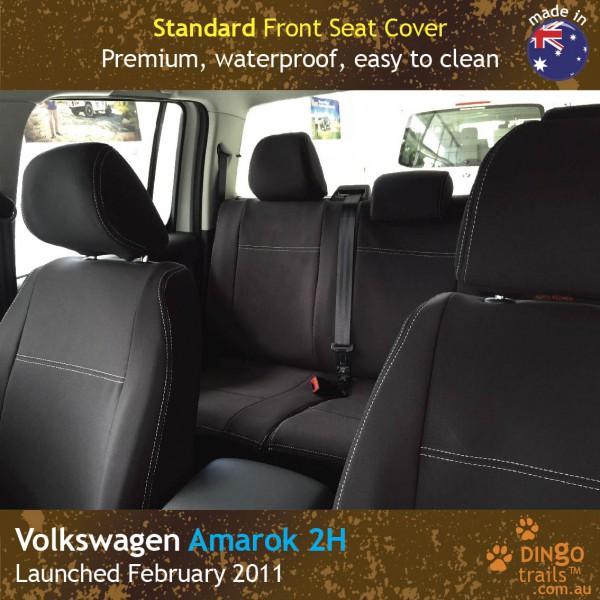 Volkswagen VW Amarok 2H Neoprene Seat Covers (VA11)b-01