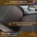 Volkswagen VW Amarok 2H Neoprene Seat Covers (VA11)c-01