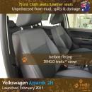 Volkswagen VW Amarok 2H Neoprene Seat Covers (VA11)e-01
