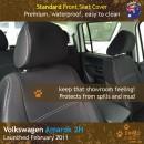 Volkswagen VW Amarok 2H Neoprene Seat Covers (VA11)f HB-01