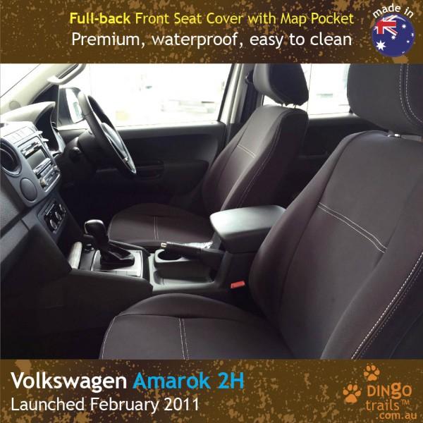 Volkswagen VW Amarok 2H Neoprene Seat Covers (VA11)h-01