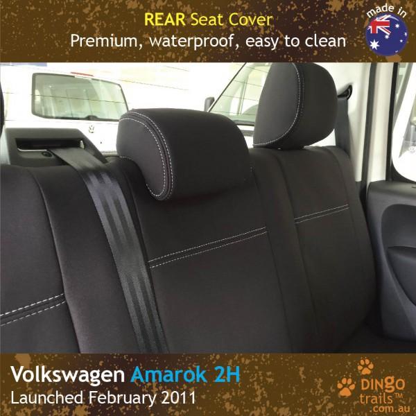 Volkswagen VW Amarok 2H Neoprene Seat Covers (VA11)k-01