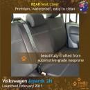 Volkswagen VW Amarok 2H Neoprene Seat Covers (VA11)l-01