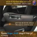 dingotrails.com.au Toyota Kluger XU40 Neoprene Seat Covers (TK07)L2-01
