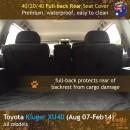 dingotrails.com.au Toyota Kluger XU40 Neoprene Seat Covers (TK07)L3-01