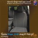 dingotrails.com.au Toyota Kluger XU40 Neoprene Seat Covers (TK07)b-01
