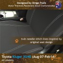 dingotrails.com.au Toyota Kluger XU40 Neoprene Seat Covers (TK07)c-01