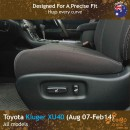 dingotrails.com.au Toyota Kluger XU40 Neoprene Seat Covers (TK07)d-01