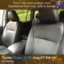 dingotrails.com.au Toyota Kluger XU40 Neoprene Seat Covers (TK07)e-01