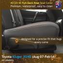 dingotrails.com.au Toyota Kluger XU40 Neoprene Seat Covers (TK07)m2-01