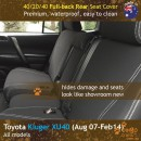 dingotrails.com.au Toyota Kluger XU40 Neoprene Seat Covers (TK07)o-01