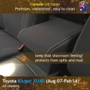 dingotrails.com.au Toyota Kluger XU40 Neoprene Seat Covers (TK07)u-01
