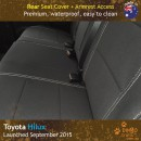 Dingotrails.com.au Toyota Hilux Mk.8 Neoprene Seat Covers (TH15)L1-01