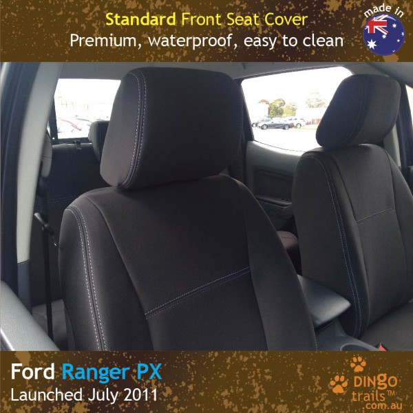 Neoprene FRONT Seat Covers for Ford Ranger PX