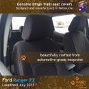 Ford Ranger PX Neoprene Seat Covers (FR11)b2-01