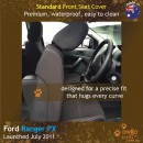 Ford Ranger PX Neoprene Seat Covers (FR11)e-01