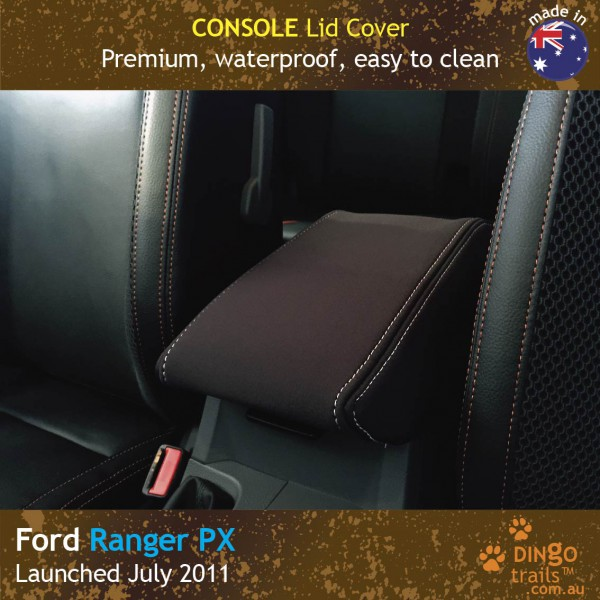 Neoprene Console Lid Cover for Ford Ranger PX.
