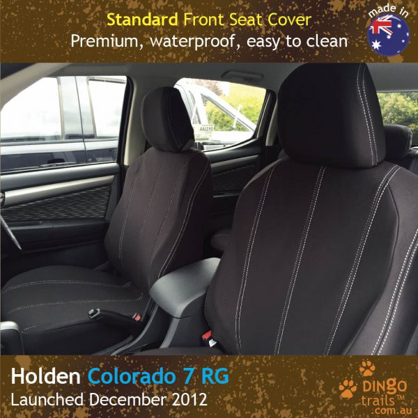 Neoprene FRONT Seat Covers for Holden Colorado 7 RG