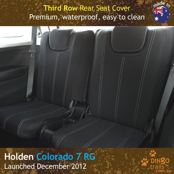 Neoprene Full-back THIRD ROW Seat Covers for Holden Colorado 7 RG
