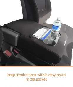 Custom Fit,waterproof, neoprene Hyundai ILOAD TQ-V BUCKET BENCH Front Seat Covers.