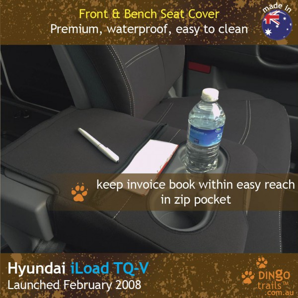 Neoprene BUCKET BENCH Front Seat Covers for Hyundai ILOAD TQ-V