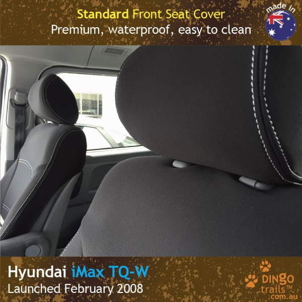 Neoprene FRONT Seat Covers for Hyundai-IMAX-TQ-W