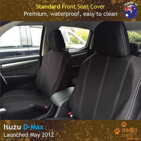 Neoprene FRONT Seat Covers for ISUZU D-Max RC