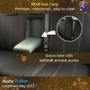 Isuzu DMax Neoprene Seat Covers (ID11)l-01