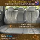 Isuzu DMax Neoprene Seat Covers (ID11)n-01