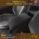 Custom Fit, waterproof, Neoprene ISUZU D-Max RC CONSOLE Lid Cover.