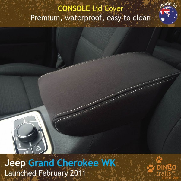 Neoprene CONSOLE Lid Cover for Jeep Grand Cherokee