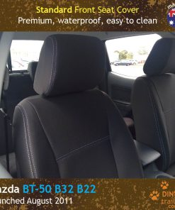 Custom Fit, waterproof, neoprene Mazda BT FRONT Seat Covers.
