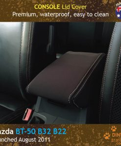 Custom Fit, waterproof, neoprene Mazda BT-50 UR CONSOLE Lid Cover.
