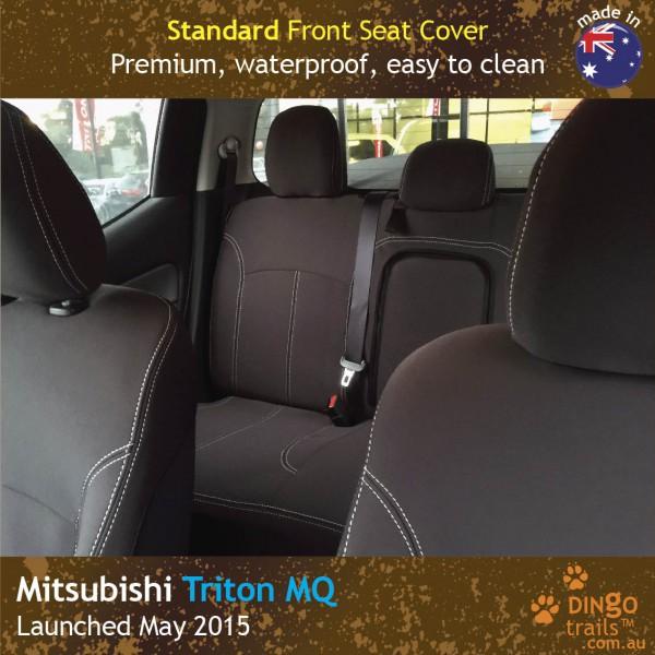 Neoprene FRONT Seat Covers for Mitsubishi Triton MQ