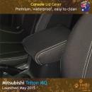Custom Fit, Waterproof, Neoprene Mitsubishi Triton MQ CONSOLE Lid Cover.