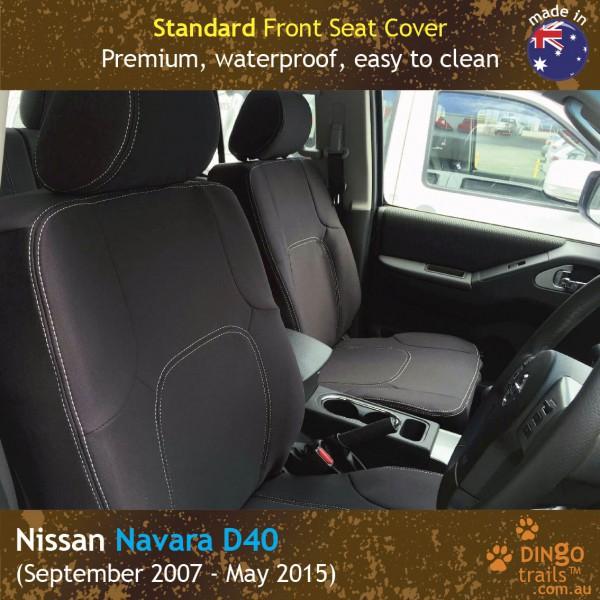 Neoprene FRONT Seat Covers for Nissan Navara D40
