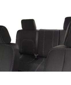 Custom Fit, Waterproof, Neoprene Nissan Navara D40 FRONT & REAR Seat Covers.
