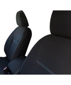 Custom Fit, Waterproof, Neoprene Nissan Navara NP300 D23 FULL-BACK Front Seat Covers.