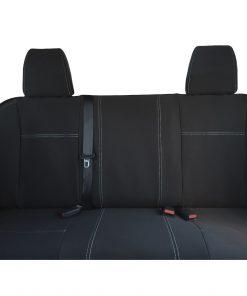 Custom Fit, Waterproof, Neoprene Nissan Navara NP300 D23 REAR Seat Cover.