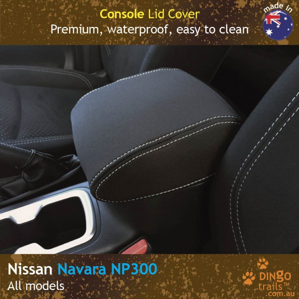 Neoprene CONSOLE Lid Covers for Nissan Navara NP300 D23