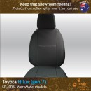 Toyota Hilux Neoprene Seat Covers (TH05)b-01