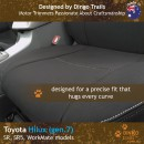 Toyota Hilux Neoprene Seat Covers (TH05)d-01